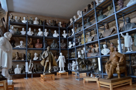 Over 300 statues of communist heroes populate this small warehouse in Minsk. © Ben Taub 2013